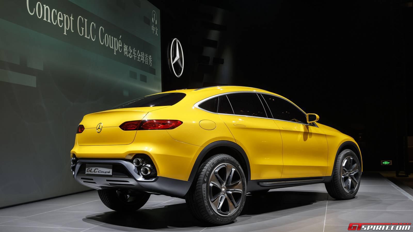 Mercedes-Benz Concept GLC Coupe Rear