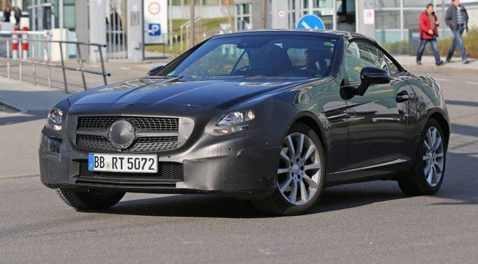 Mercedes-Benz SLC Spy Shots Emerge Again