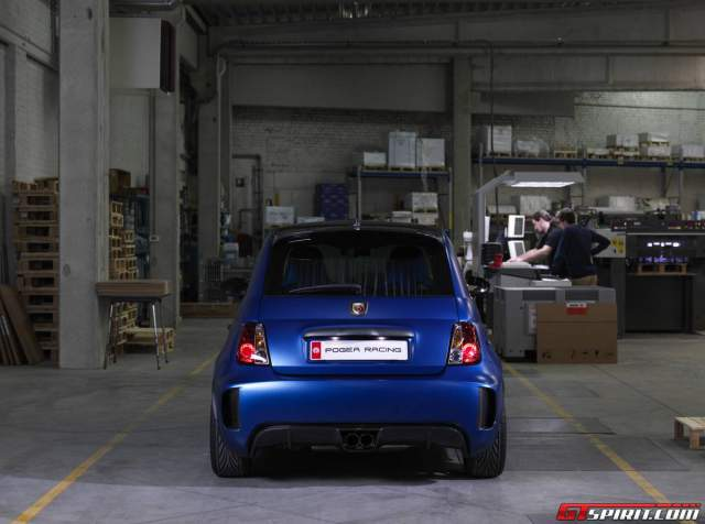 Official: Pogea Racing Fiat Abarth 500