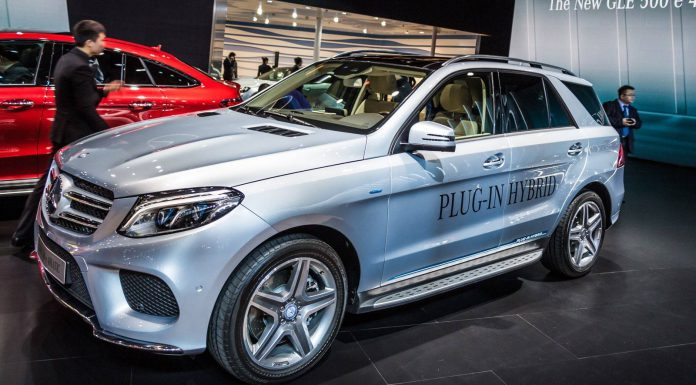 Shanghai 2015: Mercedes-Benz GLE 500e Plug-in-Hybrid