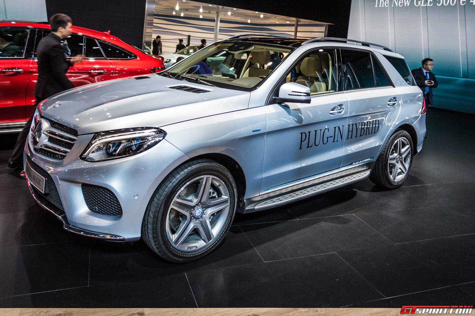 Shanghai 2015 mercedes benz gle500e plug in hybrid gtspirit for Mercedes benz hybrids
