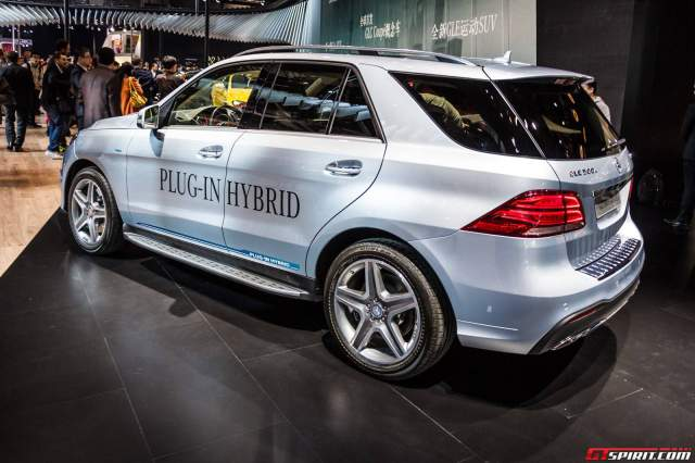 Mercedes-Benz GLE 500e Plug-in-Hybrid Rear