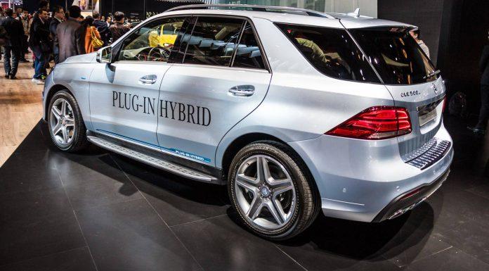 Mercedes-Benz GLE 500e Plug-in-Hybrid Rear