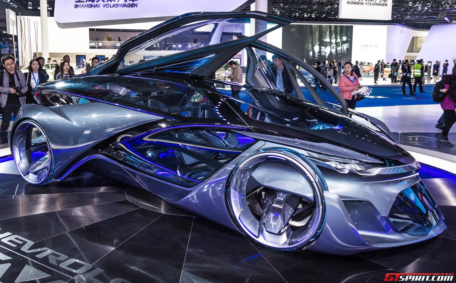 Shanghai 2015 Chevrolet Fnr Concept Gtspirit