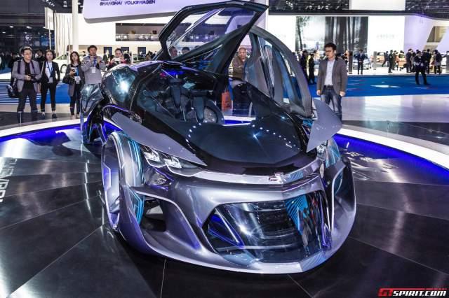 Shanghai 2015: Chevrolet FNR Concept - GTspirit