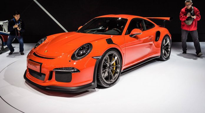 Shanghai 2015: Porsche 911 GT3 RS