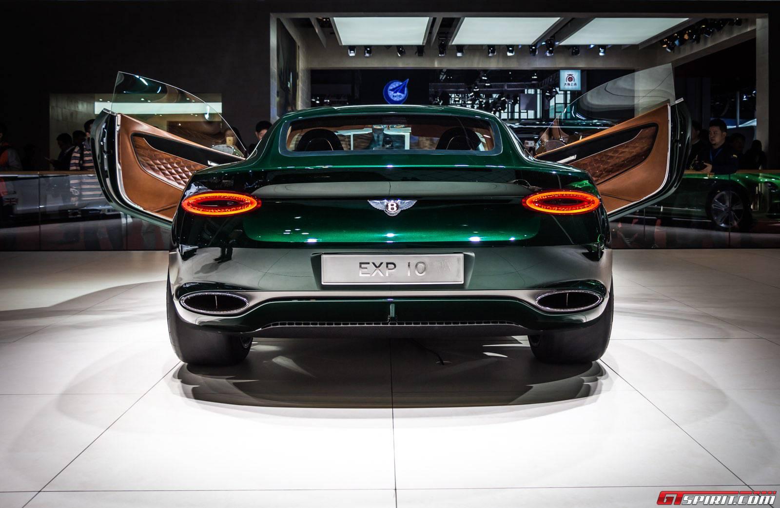 Rear and Doors Bentley EXP10 Speed 6 Concept