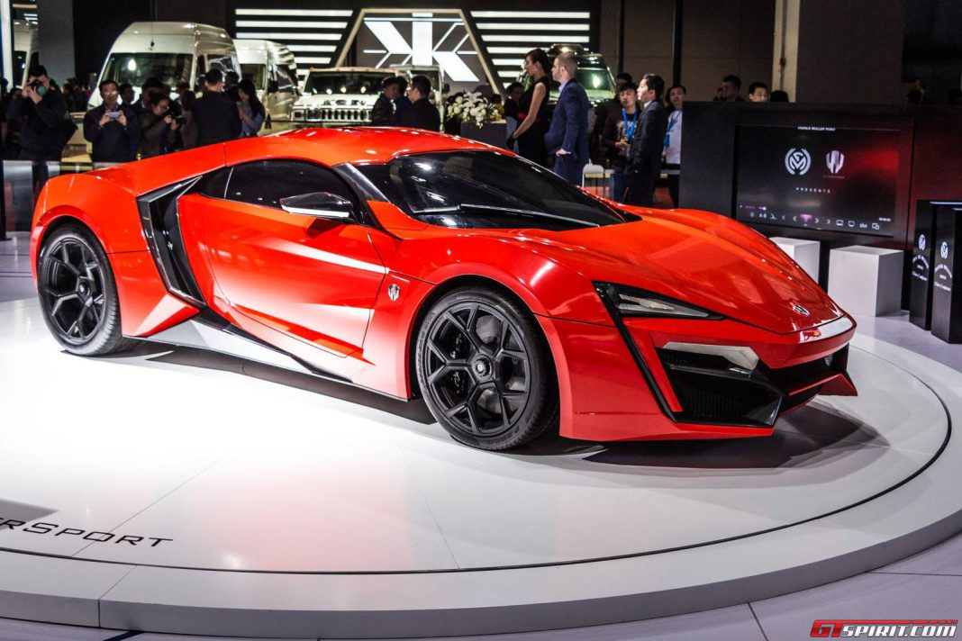 Red Lykan Hypersport