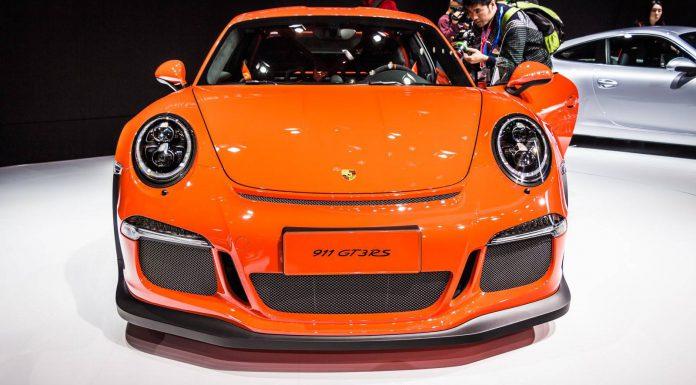2015 Porsche 911 GT3 RS front