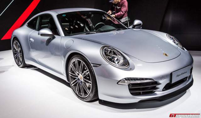 Shanghai 2015: Porsche 911 Carrera Style Edition