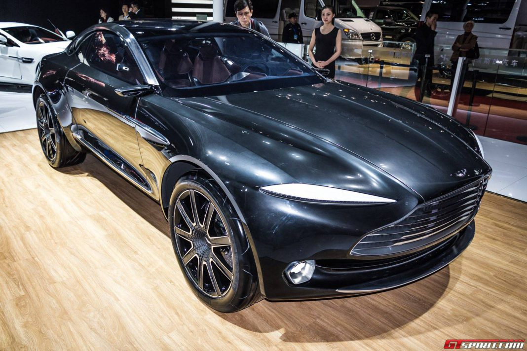 Shanghai 2015: Aston Martin DBX