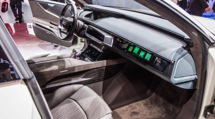Interior of the Audi Prologue Allroad Concept