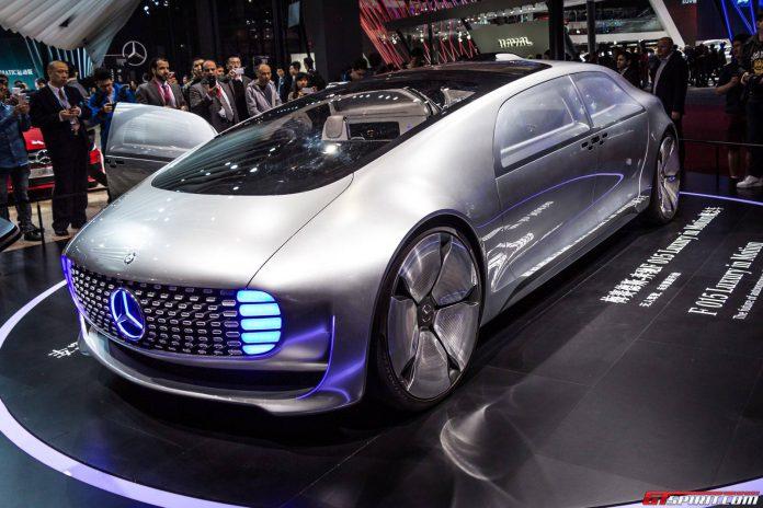 Shanghai 2015: Mercedes-Benz F 015 Luxury in Motion