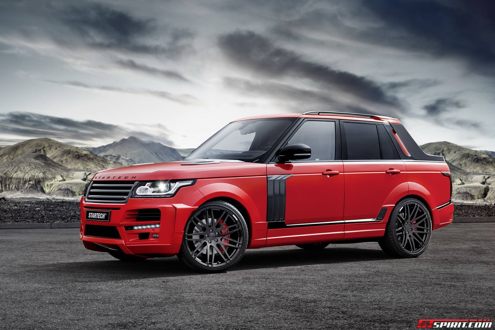 official startech range rover pickup gtspirit. Black Bedroom Furniture Sets. Home Design Ideas
