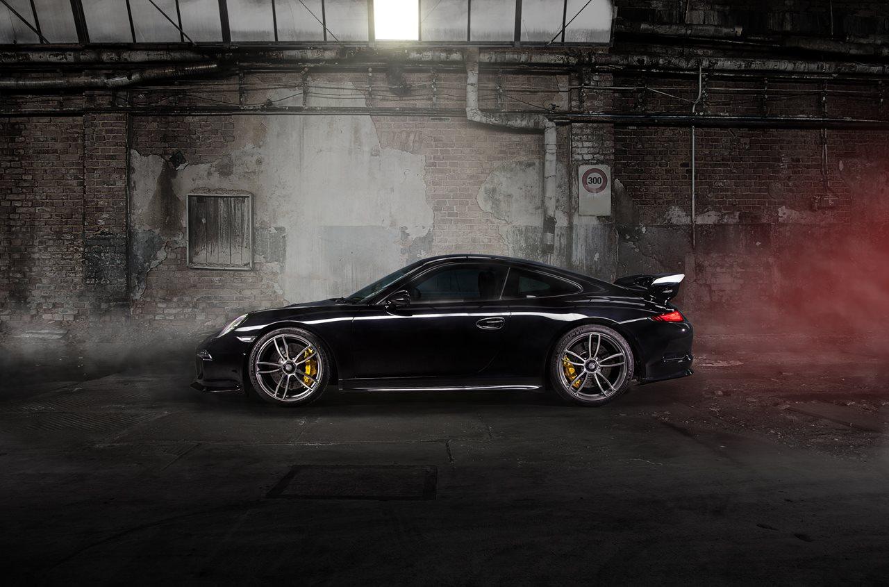 Porsche 911 Gt3 With Techart Wheels Gtspirit