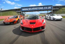 Video: McLaren P1, LaFerrari and Porsche 918 Spyder at Silverstone