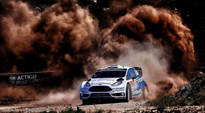 FIA WRC Rally Portugal Ford Fiesta RS