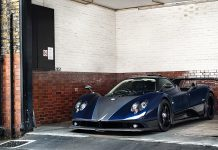 Pagani Zonda 760VR Snapped in the UK