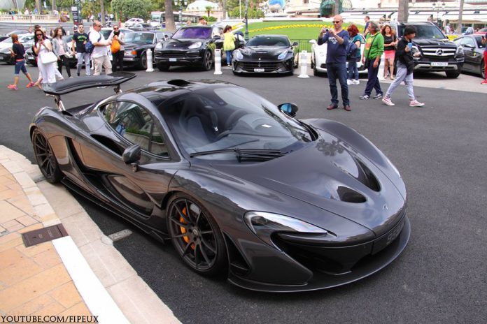 Jenson Button Buys New McLaren P1