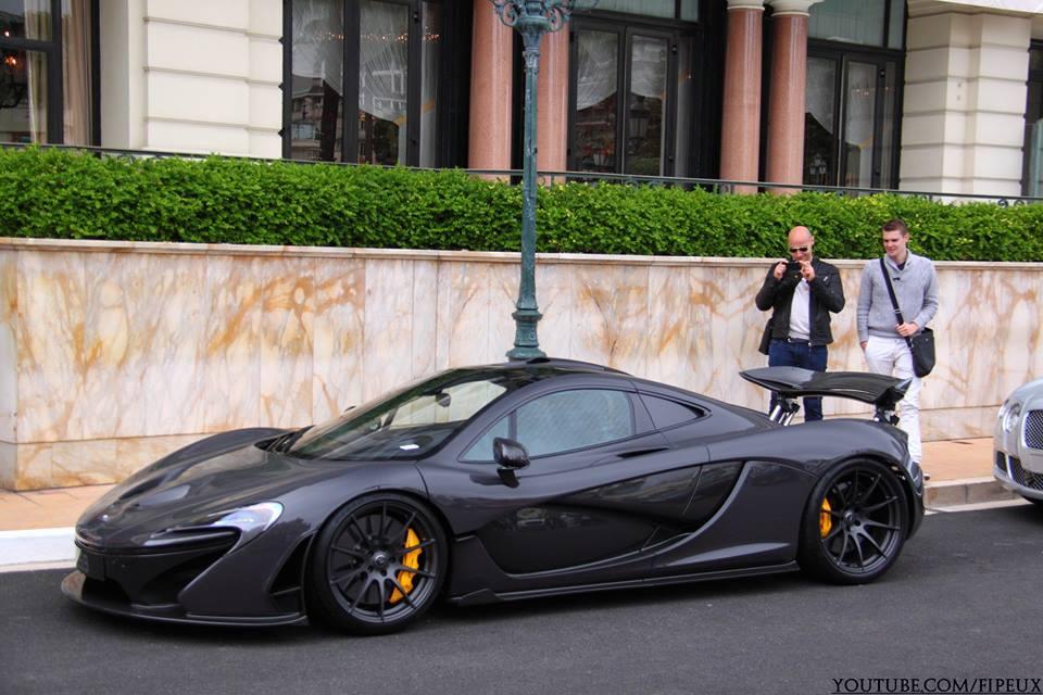 Jenson Button Buys New McLaren P1 - GTspirit