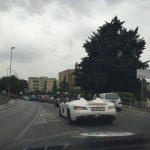 White SLR Stirling Moss Mille Miglia 2015
