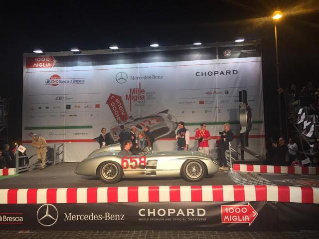 Mercedes-Benz 300 SLR Mille Miglia 2015