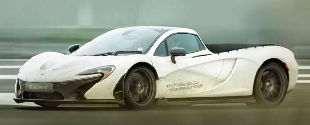 McLaren P1 Pickup