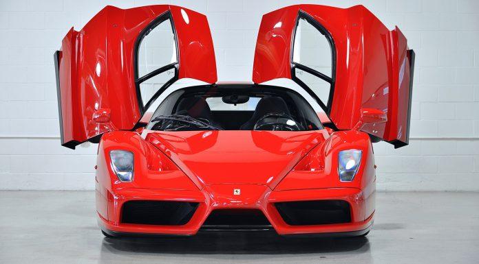 Floyd Mayweather Ferrari Enzo