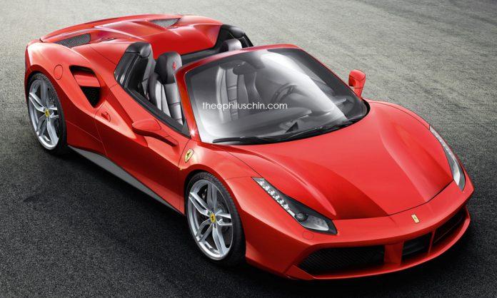 Ferrari 488 GTS Spider could debut at Frankfurt 2015