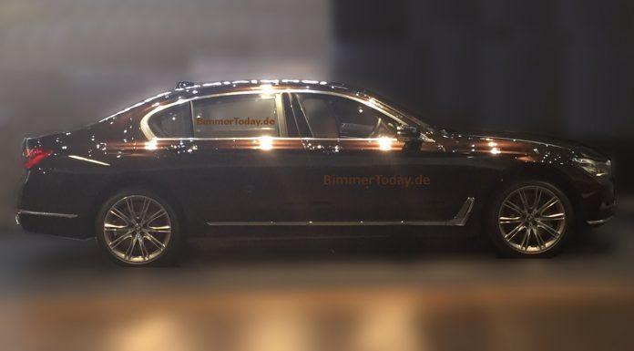 2016 BMW 7-Series Photos Leaked