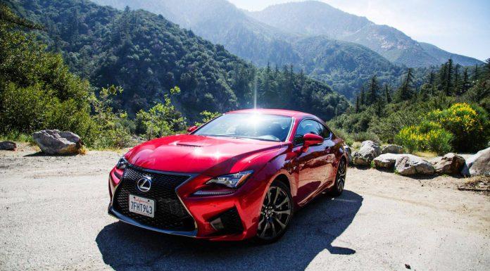 2015 Lexus RC F Review Front