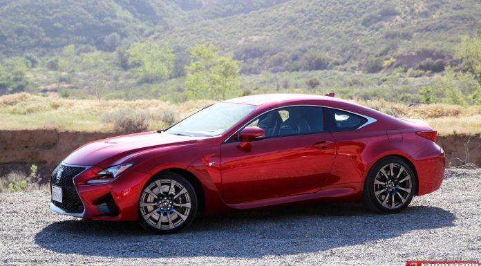 2015 Lexus RC F Review Side