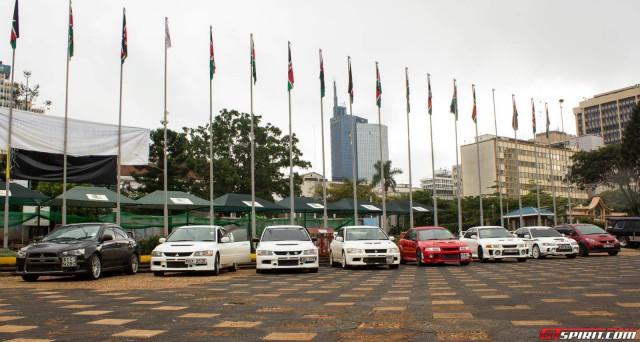 2015 Nairobi Auto Festival Mitsubishi Evolution