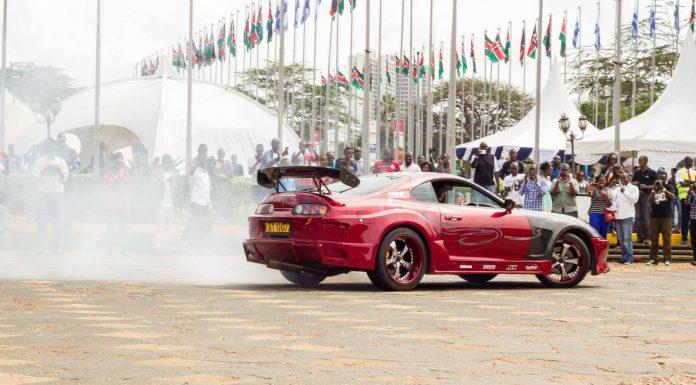 2015 Nairobi Auto Festival Toyota Supra