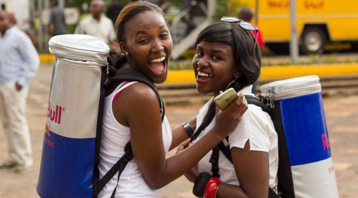 2015 Nairobi Auto Festival Redbull Girls