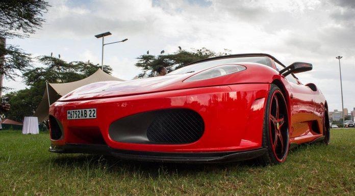 2015 Nairobi Auto Festival Ferrari F430