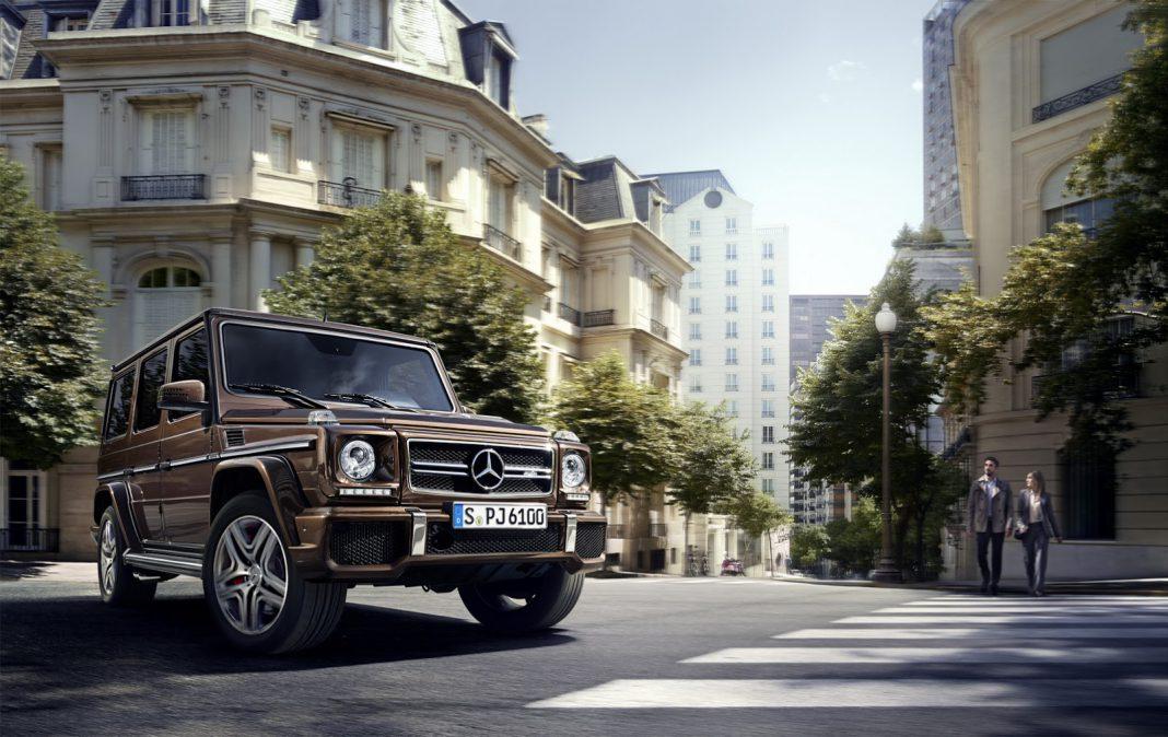 Facelift Mercedes-Benz G-Class