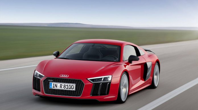 2016 Audi R8 priced in Germany