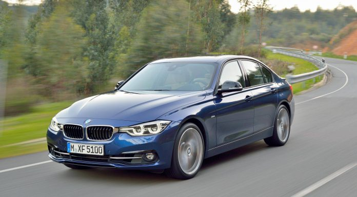 2016 BMW 3-Series Blue