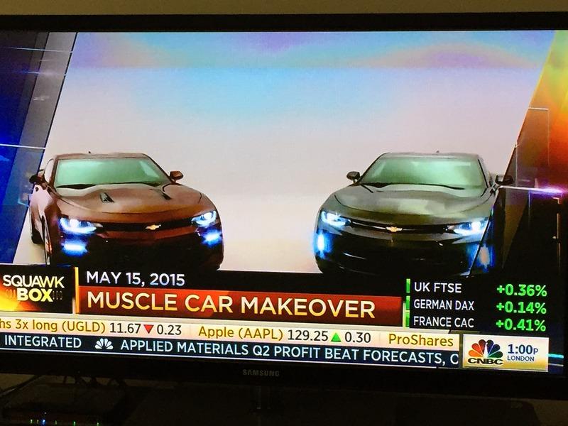 2016 Chevrolet Camaro leak front