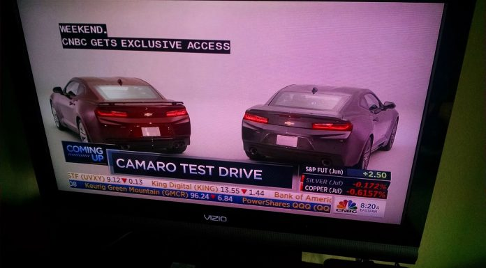 2016 Chevrolet Camaro leak rear