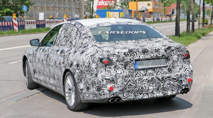 Next-gen BMW M5 spied testing