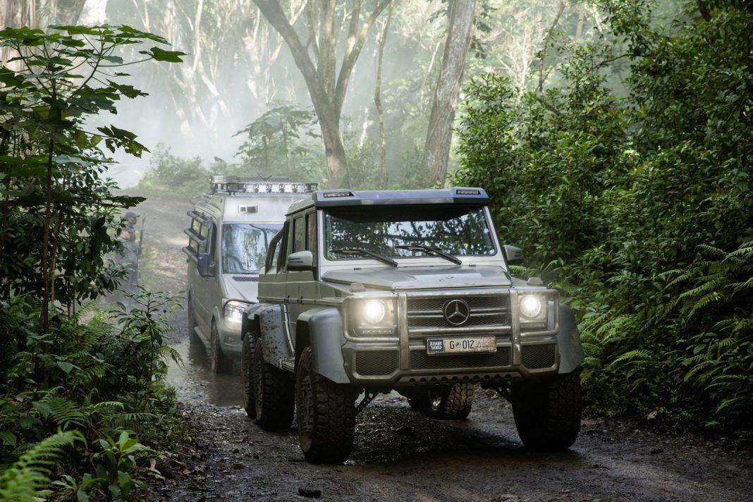 Mercedes-Benz in Jurassic World