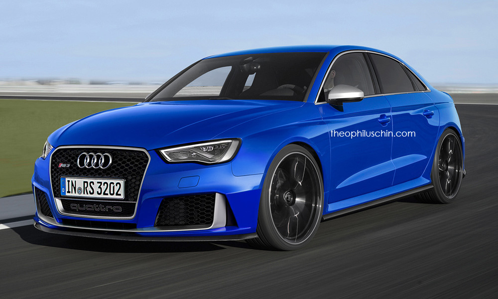 Audi RS3 sedan front