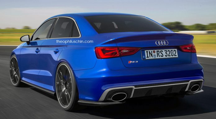 Audi RS3 Sedan back