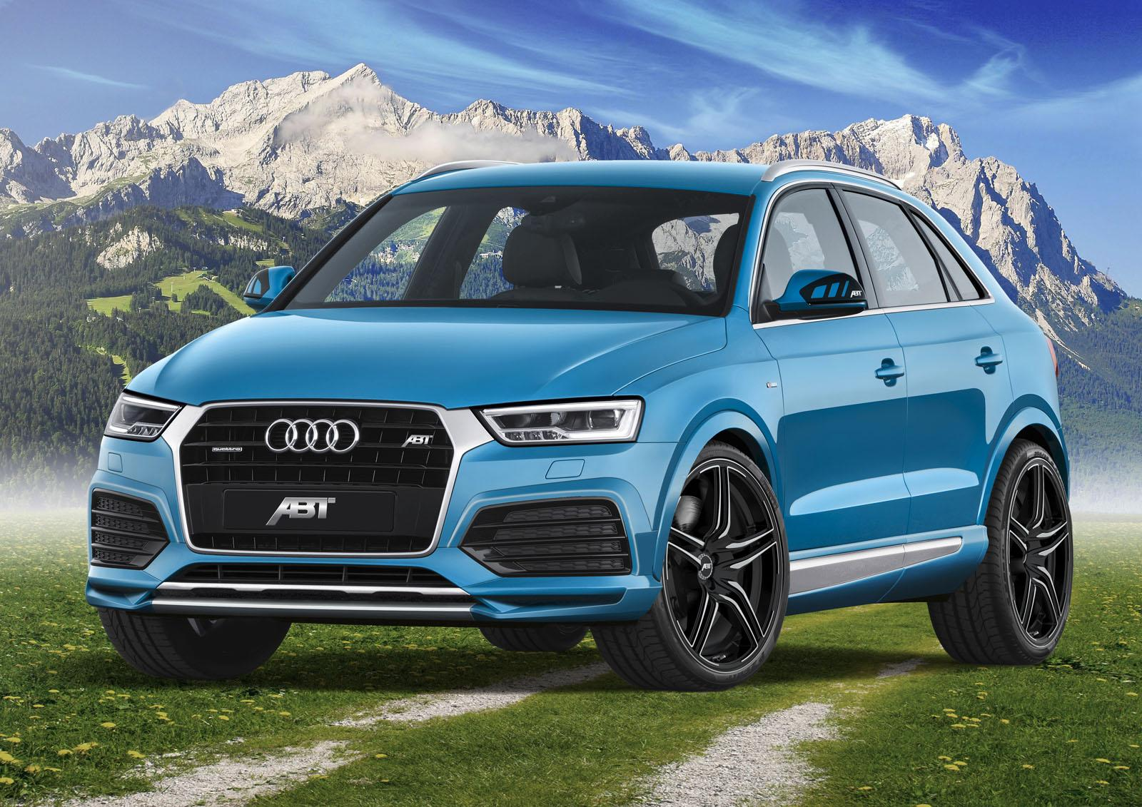 Official: 2016 ABT Audi Q3