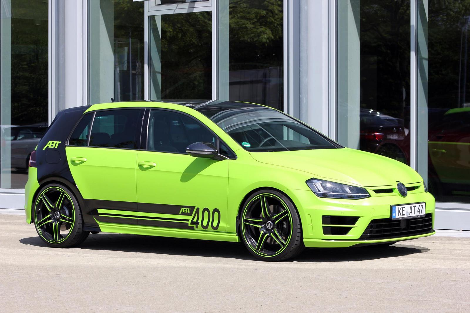 abt reveals lime green 400hp volkswagen golf r gtspirit. Black Bedroom Furniture Sets. Home Design Ideas