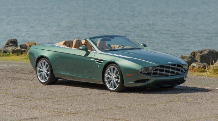 Aston Martin DB9 Spyder by Zagato front