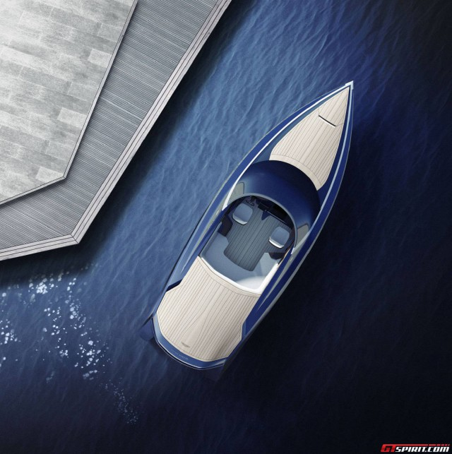Quintessence AM37 Aston Martin powerboat planview