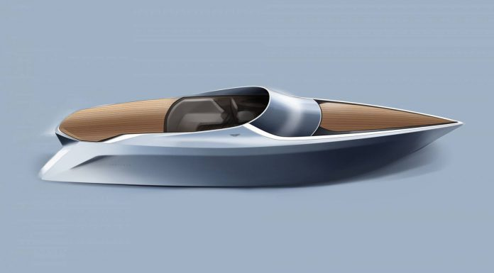Quintessence AM37 Aston Martin powerboat sketch